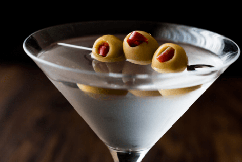 how to make a martini dry