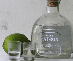 different types of liquor -- tequila