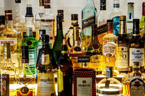 different types of liquor